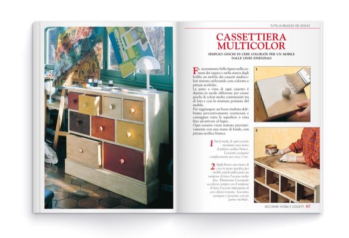 Decorare mobili e oggetti riciclo creativo dei vecchi mobili edibrico - Decoupage su mobili vecchi ...