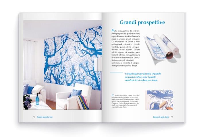 Decorare le pareti di casa tecniche e idee per pareti - Decorare le pareti ...