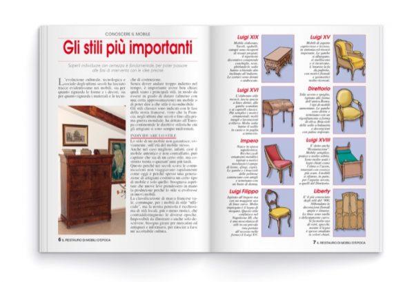 Il restauro di mobili d'epoca