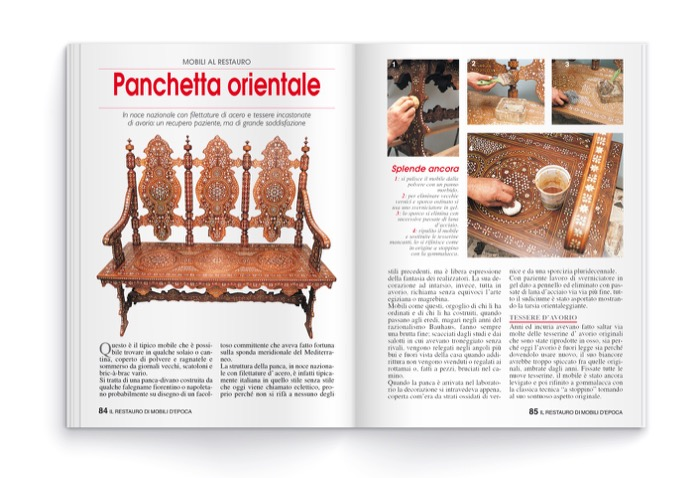Il restauro dei mobili d 39 epoca edibrico - Sverniciare mobile antico ...
